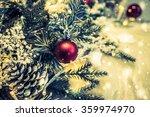 christmas decoration ornament... | Shutterstock . vector #359974970