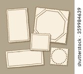 blank postage stamps | Shutterstock .eps vector #359984639