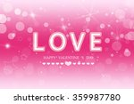 happy  valentine 's  day | Shutterstock . vector #359987780