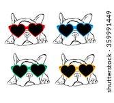 dog vector breed cute pet... | Shutterstock .eps vector #359991449