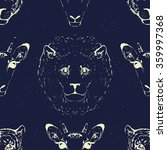 seamless pattern of a wild... | Shutterstock .eps vector #359997368
