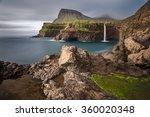 waterfall in gasadalur  which...   Shutterstock . vector #360020348