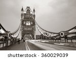 Tower Bridge In London As The...
