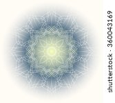 circular ornament | Shutterstock . vector #360043169