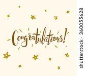 congratulations vector... | Shutterstock .eps vector #360055628