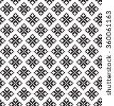 geometric pixel pattern | Shutterstock .eps vector #360061163