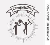 competitive spirit design  | Shutterstock .eps vector #360067400