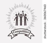 competitive spirit design  | Shutterstock .eps vector #360067460