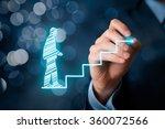 personal development  career... | Shutterstock . vector #360072566