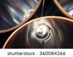 Inside Of Metallic Gas Tubes ...