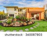 beautiful luxury home exterior  ... | Shutterstock . vector #360087803