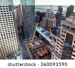 unique view looking down on... | Shutterstock . vector #360093590