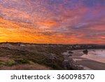 Sunrise In Bandon Beach ...