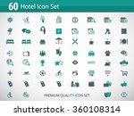 hotel icon set   hotel... | Shutterstock .eps vector #360108314