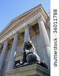 congress lion | Shutterstock . vector #36011788