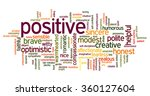 conceptual tag cloud containing ... | Shutterstock .eps vector #360127604