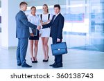 full length image of two... | Shutterstock . vector #360138743