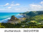 Piha Beach Which Is Located At...