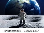 brave astronaut at the... | Shutterstock . vector #360211214