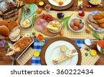 Breakfast Or Brunch Table...
