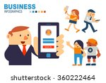 vector illustrator businessman... | Shutterstock .eps vector #360222464