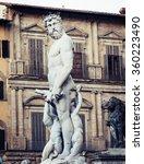 sculpture of neptune of...