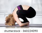 fitness  stretching workout ... | Shutterstock . vector #360224090