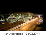 train station at night | Shutterstock . vector #36022744