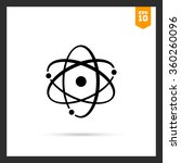 atom model | Shutterstock .eps vector #360260096