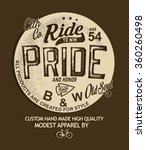 bicycle label type | Shutterstock .eps vector #360260498