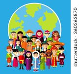vector illustration of... | Shutterstock .eps vector #360263870
