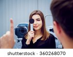 consultation with an... | Shutterstock . vector #360268070