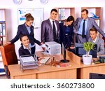 group business people in office.   Shutterstock . vector #360273800