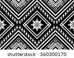 geometric ethnic  pattern... | Shutterstock .eps vector #360300170