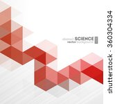 vector abstract geometric...   Shutterstock .eps vector #360304334