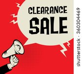 megaphone hand  business... | Shutterstock .eps vector #360304469