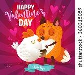 postcard valentine's day.... | Shutterstock .eps vector #360315059