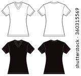 vector illustration of black... | Shutterstock .eps vector #360315569