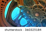 abstract background  fantastic...   Shutterstock . vector #360325184