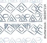 seamless pattern  doodles... | Shutterstock . vector #360347114