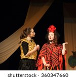 act play performance in theater | Shutterstock . vector #360347660
