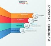 modern infographics options... | Shutterstock .eps vector #360352109