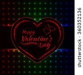 happy valentines day gradient... | Shutterstock .eps vector #360352136