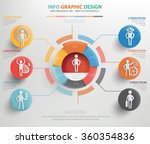 human resource info graphic... | Shutterstock .eps vector #360354836