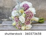 Wedding Bouquet With White...