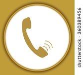 calling icon | Shutterstock .eps vector #360389456