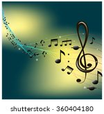 the concept of music. | Shutterstock .eps vector #360404180