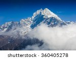 Mountains In Everest Region ...