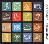 cold pictogram | Shutterstock .eps vector #360408470