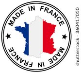"""round patch """" made in france """"... 